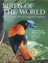 Birds of the World, Recommended English Names