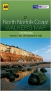 Walkers Map North Norfolk Coast