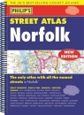 Philip's Street Atlas Norfolk: Spiral Edition