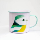 Enamel Mug - Blue Tit by Matt Sewell
