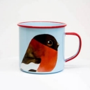 Enamel Mug - Bullfinch by Matt Sewell
