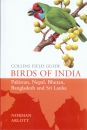 Collins Field Guide Birds of India